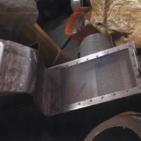 大阪精機製100㎜ペレット製造装置8