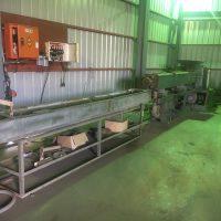 オーエヌ機械製100㎜押出機 (1)