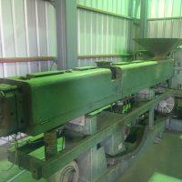 オーエヌ機械製100㎜押出機 (2)