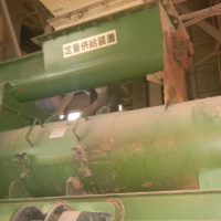 CPM製木質ペレット成型機4定量供給機