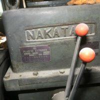 ナカタニ機械製100㎜押出機 (1)