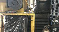 クロダ製圧縮梱包及び自動フィルム梱包機 (1)