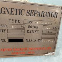 ⑤O-95ドラム式磁選機