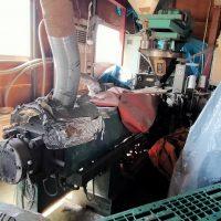 ➀O-91ナカタニ機械製押出機
