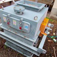 ➀O-95ドラム式磁選機