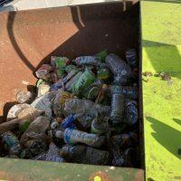 油研工業製ペットボトル圧縮梱包機及び結束機 (9)