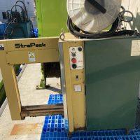 油研工業製ペットボトル圧縮梱包機及び結束機 (10)
