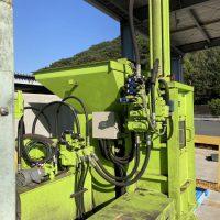 油研工業製ペットボトル圧縮梱包機及び結束機 (7)