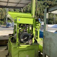 油研工業製ペットボトル圧縮梱包機及び結束機 (12)